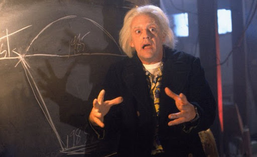 Doc Brown explains future alternation